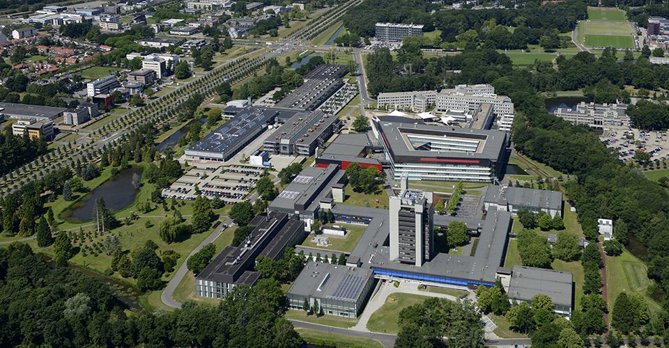 Khuôn viên rộng lớn của Đại học Twente cung cấp mọi thứ cần thiết cho việc học tập, làm việc và sinh sống của sinh viên