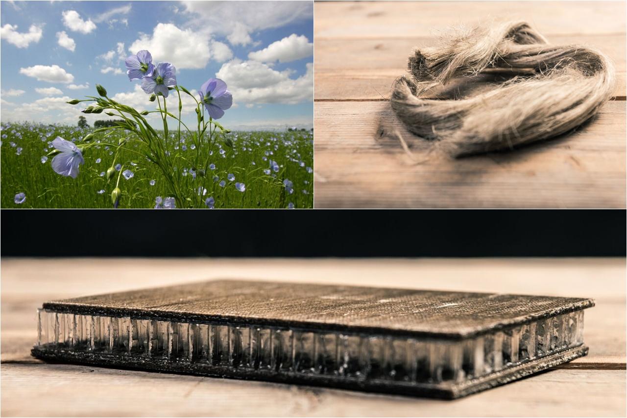 Tin được không? Thành phần cấu tạo nên xe sinh học Noah được làm từ cây lanh!