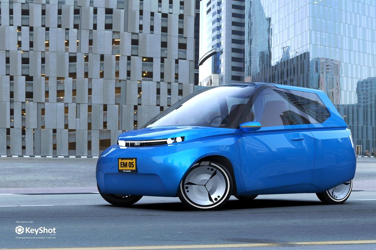 Noah - xe sinh học đầu tiên trên thế giới - nhẹ, hiệu suất cao và có thể tái chế hoàn toàn