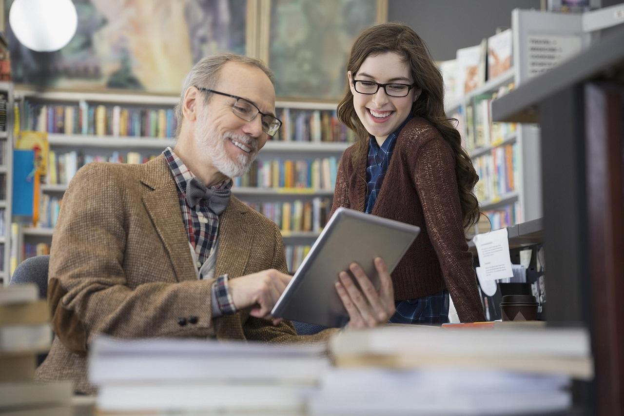 Sinh viên du học Hà Lan có thể trao đổi thoải mái với giảng viên