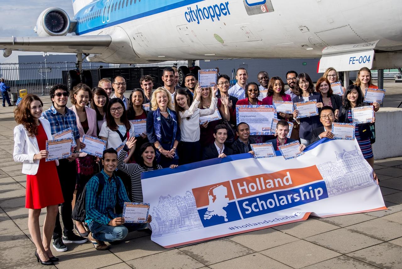 Holland Scholarship trị giá 5.000 euro/suất dành cho sinh viên chương trình cử nhân hoặc thạc sĩ tại các trường đại học Hà Lan