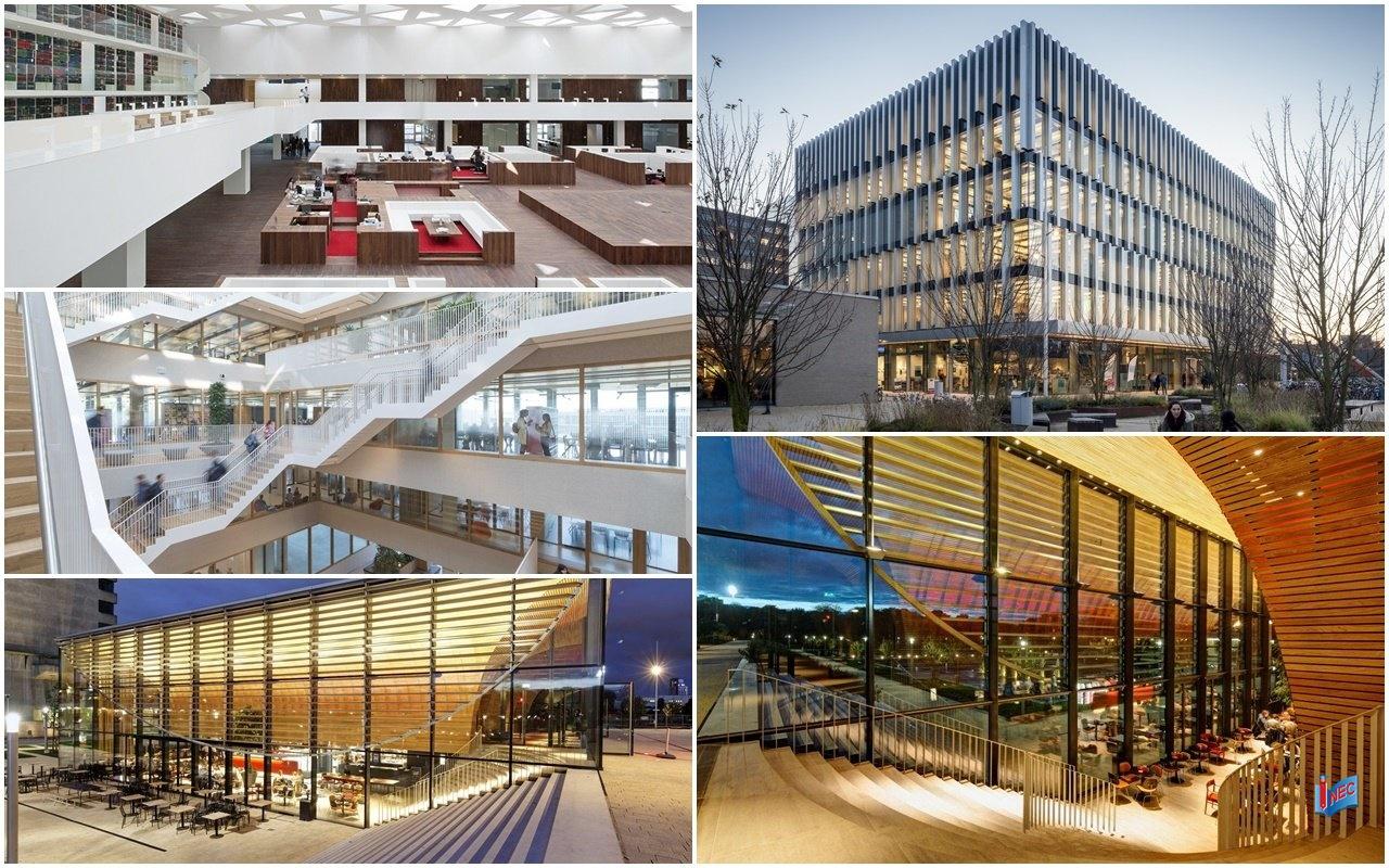 Cơ sở và trang thiết bị tiên tiến tại đại học nghiên cứu Hà Lan