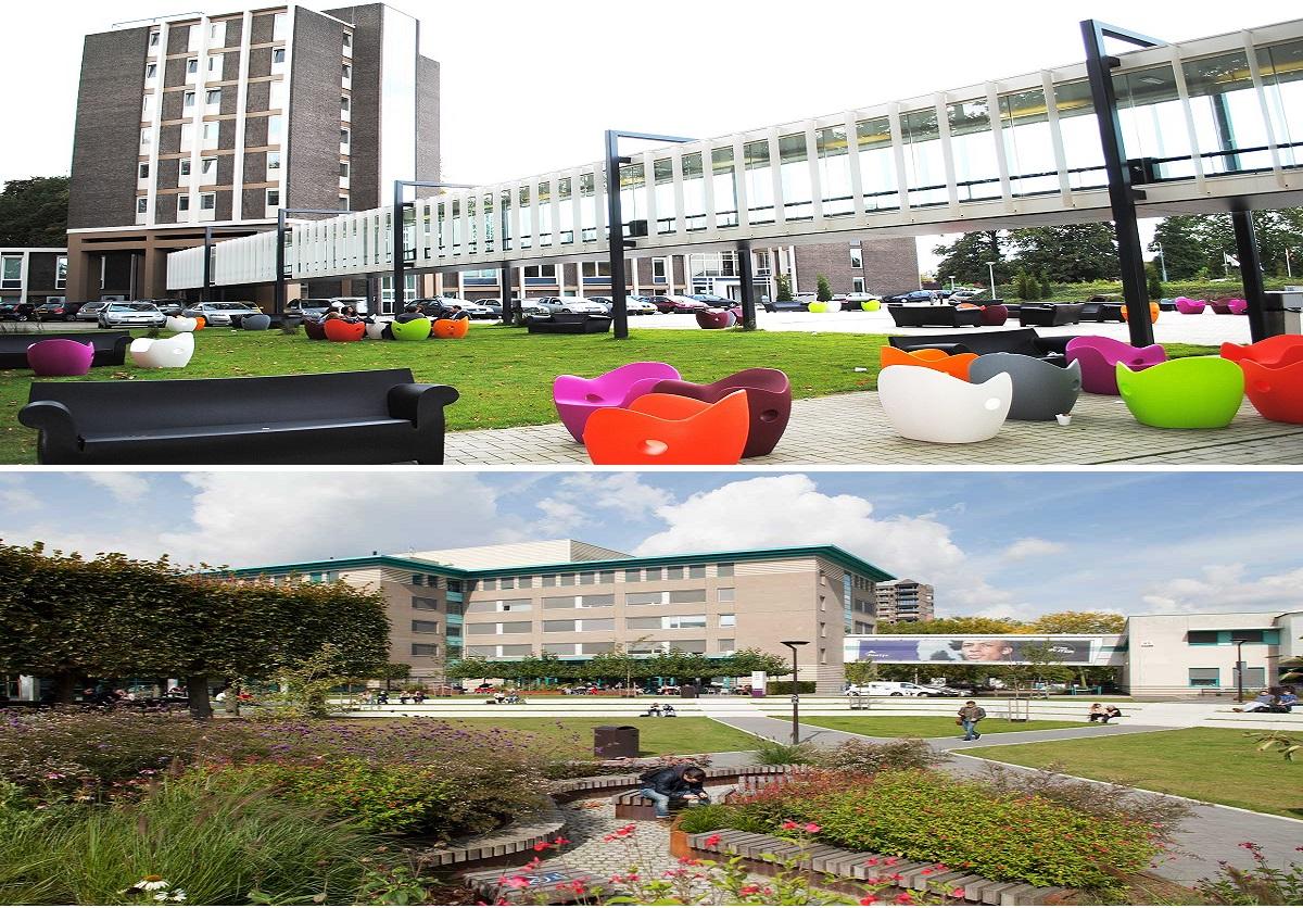 Hai khu học xá tại Venlo và Eindhoven của Đại học KHUD Fontys