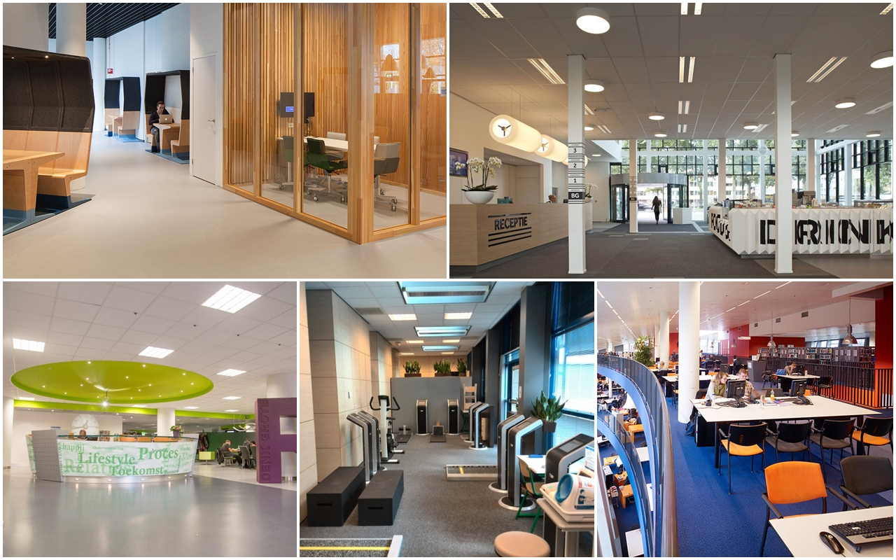 Không gian học tập hiện đại và thân thiện của Đại học KHUD Fontys