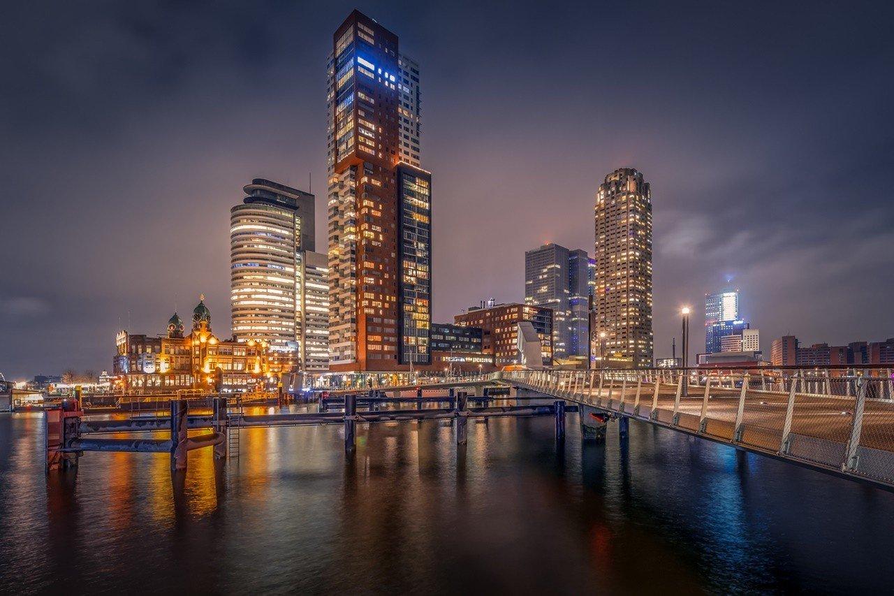 Kiến trúc hiện đại của Thành phố cảng Rotterdam