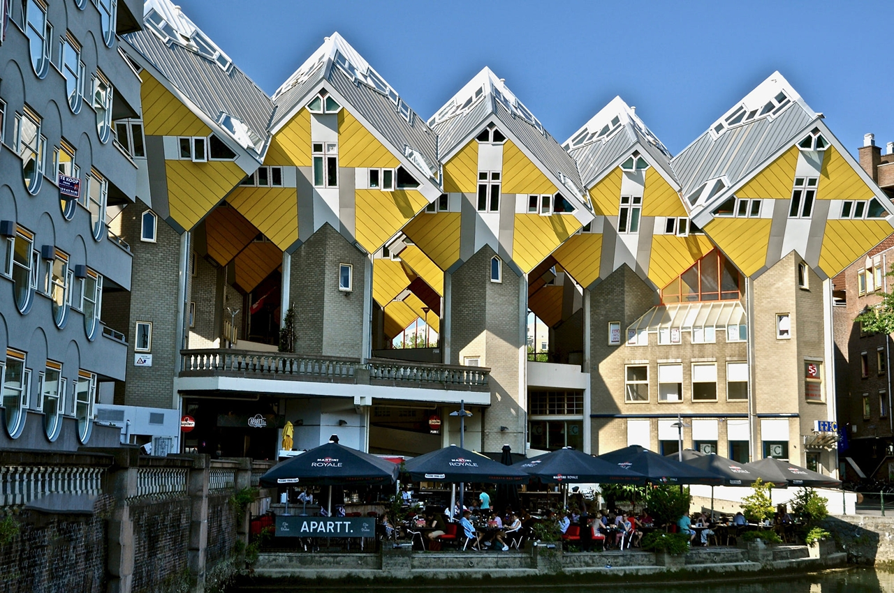 Những kiến trúc ấn tượng của Rotterdam