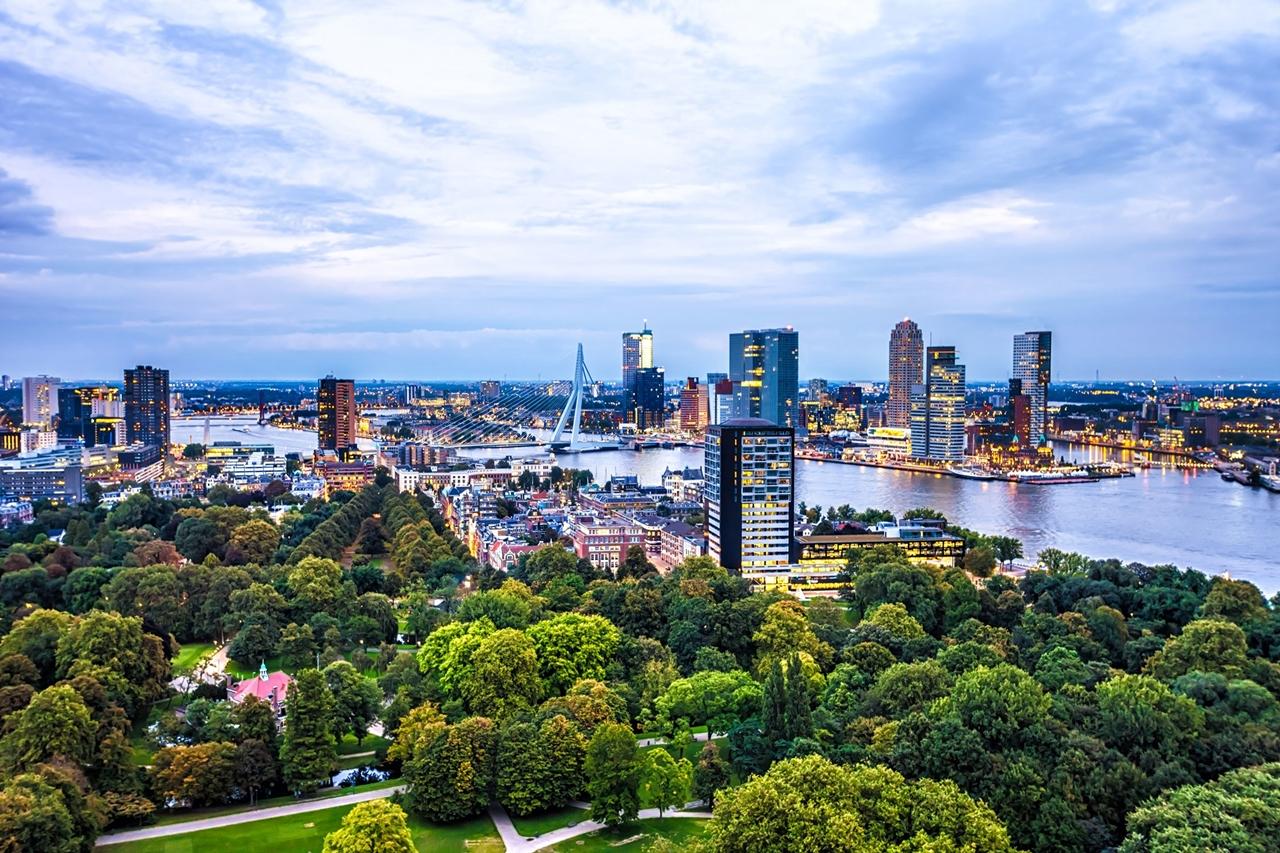 Thành phố Rotterdam năng động mang đến nhiều cơ hội nghề nghiệp cho sinh viên