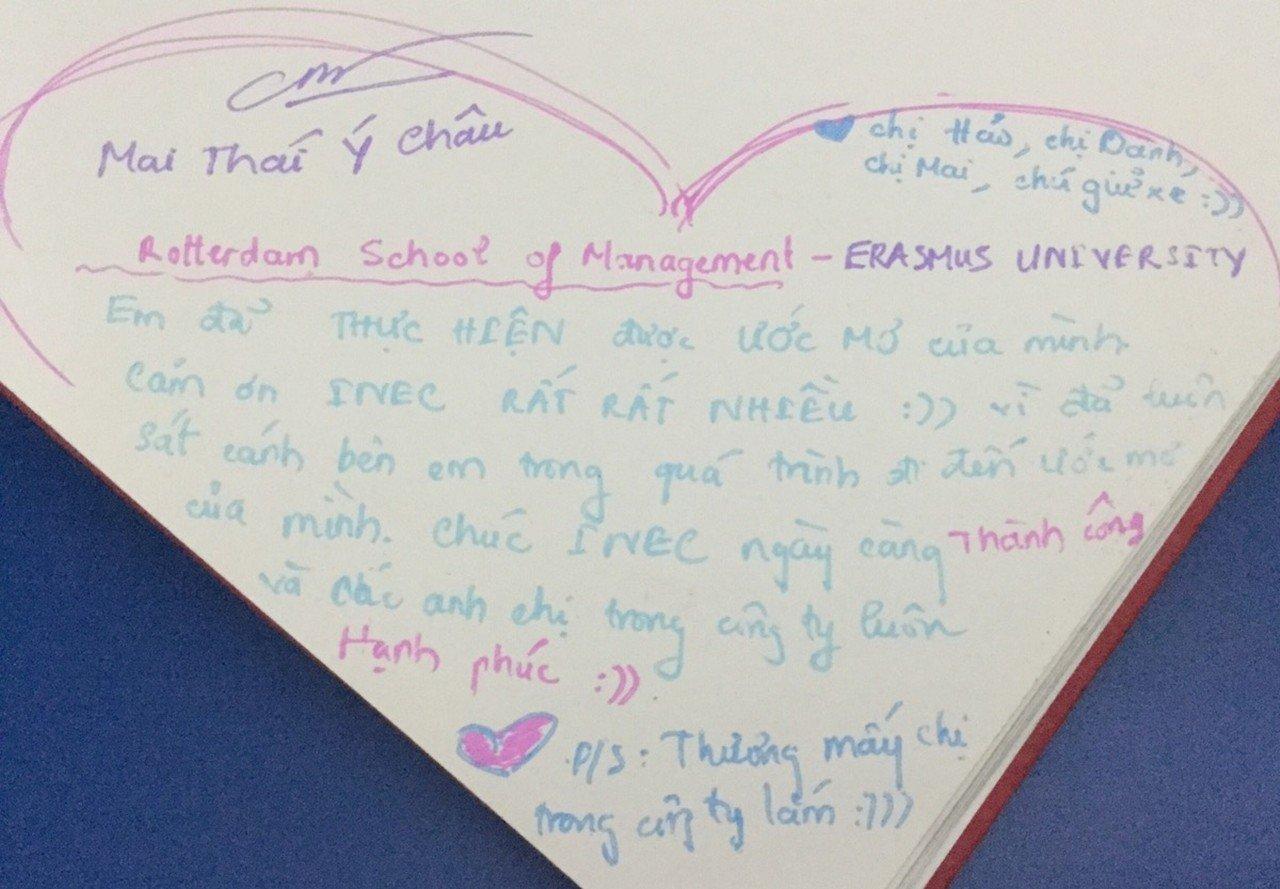 Mai Thái Ý Châu - Sinh viên Đại học Eramus
