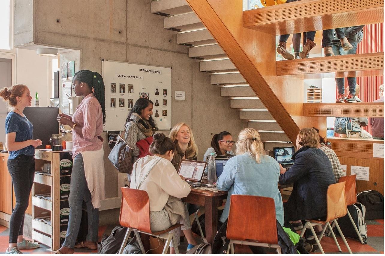 Không gian học tập thân thiện của sinh viên quốc tế tại Đại học Maastricht