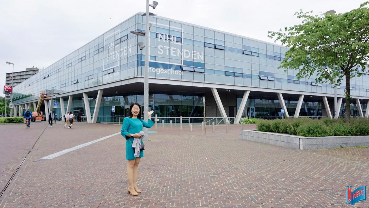 NHL Stenden - Top 3 trường khoa học ứng dụng lớn nhất Hà Lan