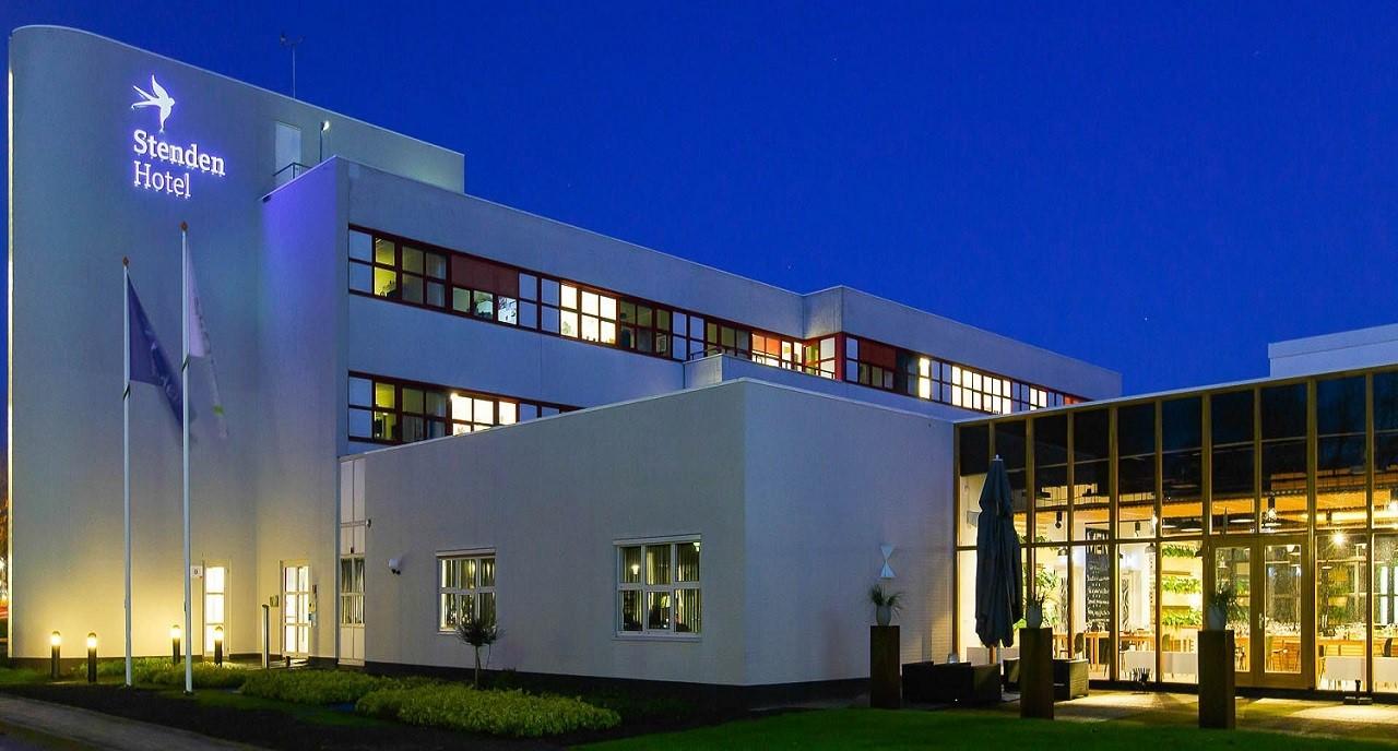 Khách sạn Stenden đạt chuẩn 4 sao, vừa phục vụ du khách, vừa là nơi học tập, thực tập của sinh viên trường