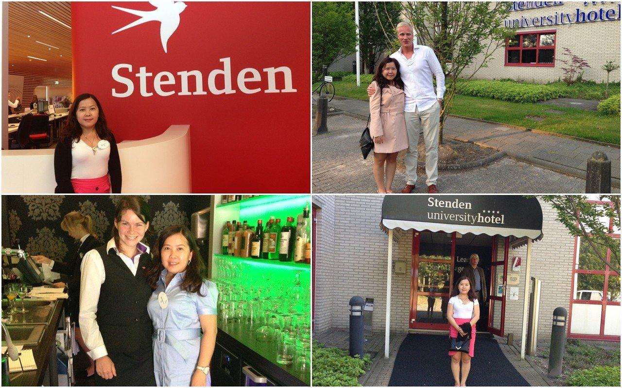 INEC đến thăm Đại học Stenden