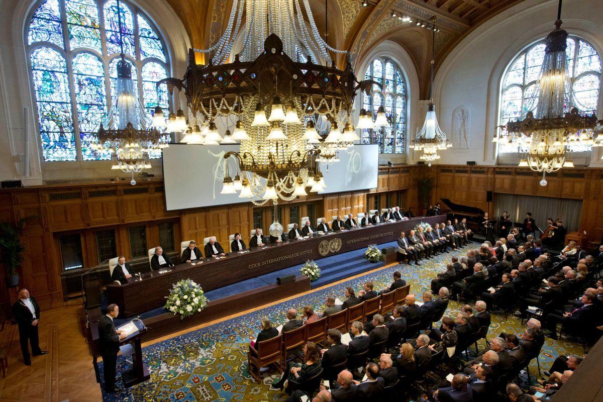 Tòa án công lý quốc tế tại The Hague, Hà Lan