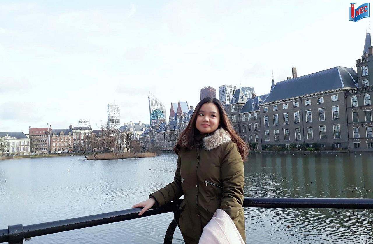 Nguyễn Trần Linh Phương - Học sinh INEC đạt học bổng 12.500 Euro của Đại học KHUD HAN