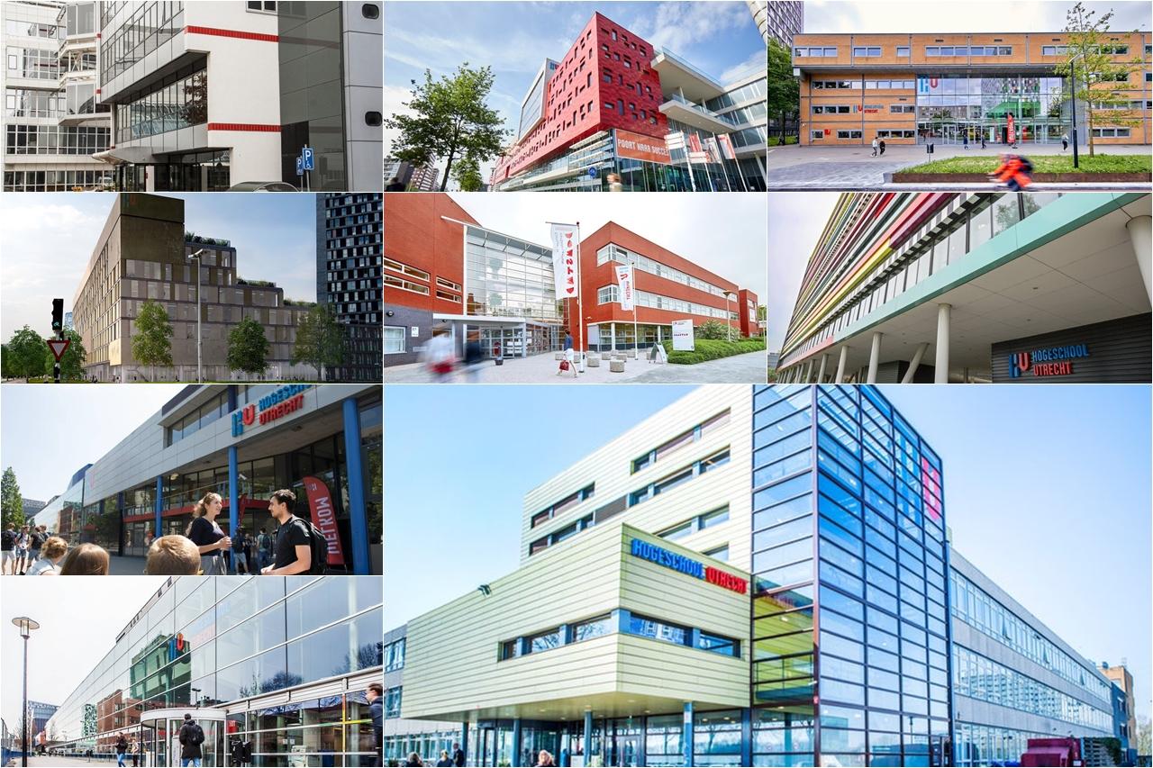 Các khu học xá của Đại học KHUD Utrecht