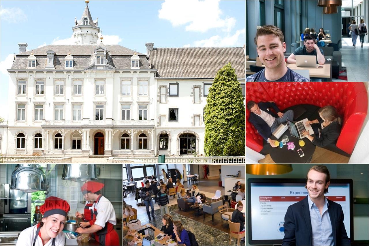 Sinh viên học tập tại khoa quản trị khách sạn Maastricht của Đại học KHUD Zuyd