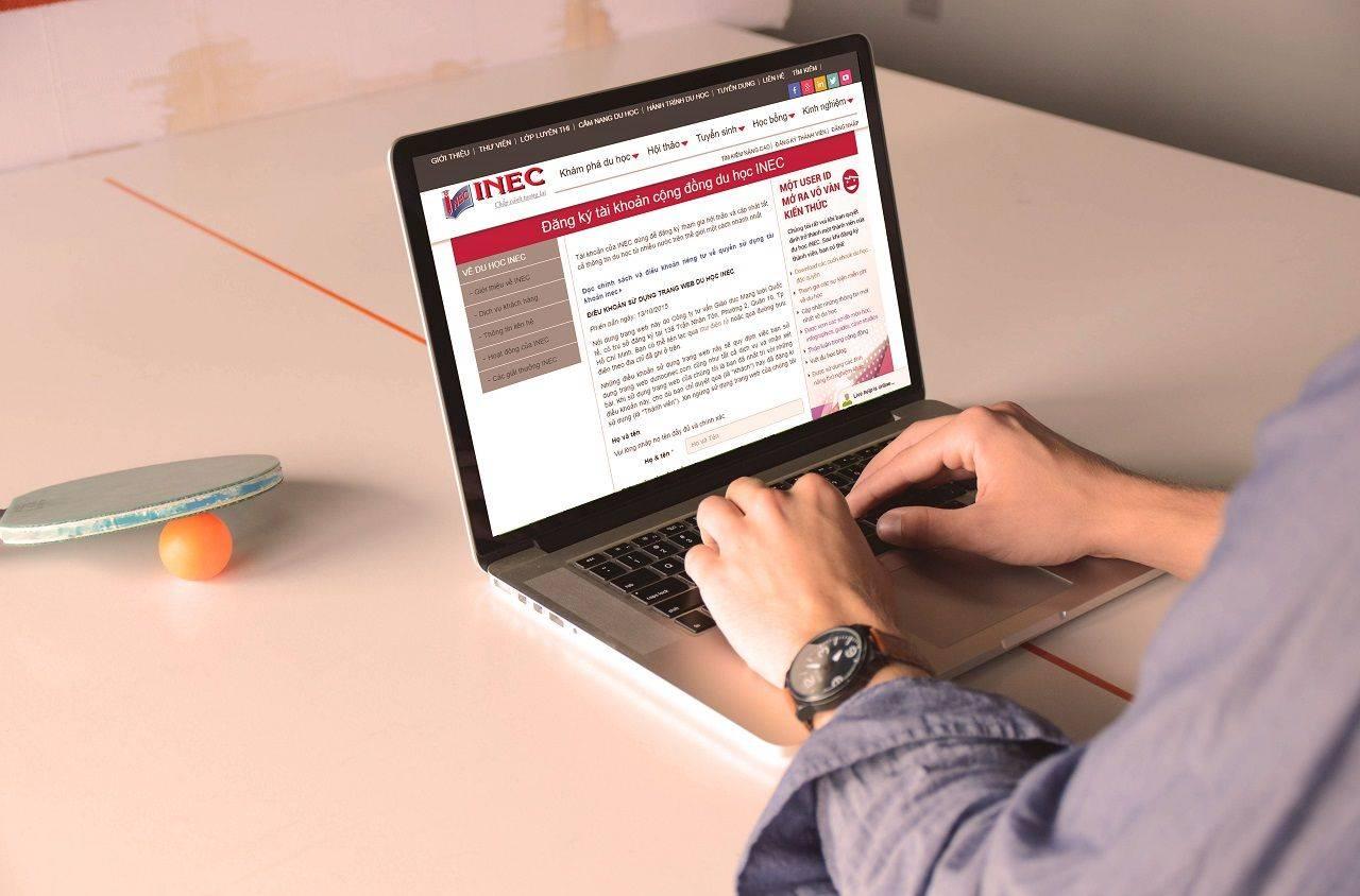 Truy cập trang web duhocinec.com để cập nhật thông tin du học các nước đầy đủ và chính xác