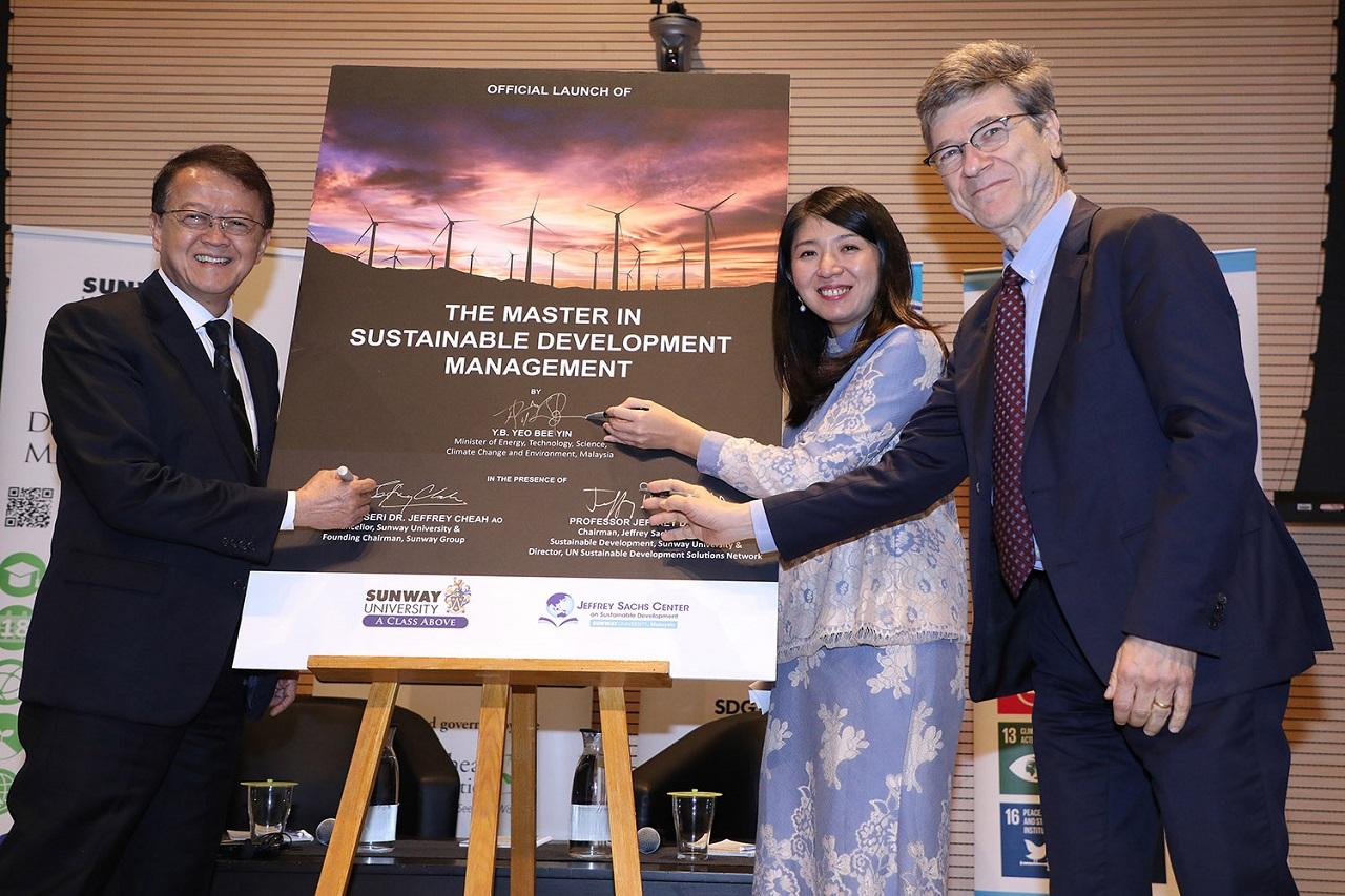 Đại học Sunway ra mắt chương trình thạc sĩ về quản lý phát triển bền vững