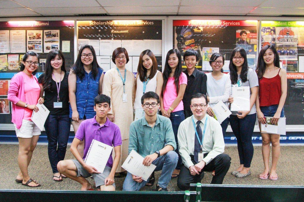 Học sinh Việt Nam trong hành trình Study Tour tại Đại học Sunway