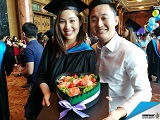 Chúc mừng lễ tốt nghiệp của sinh viên đạt học bổng toàn phần ĐH Sunway