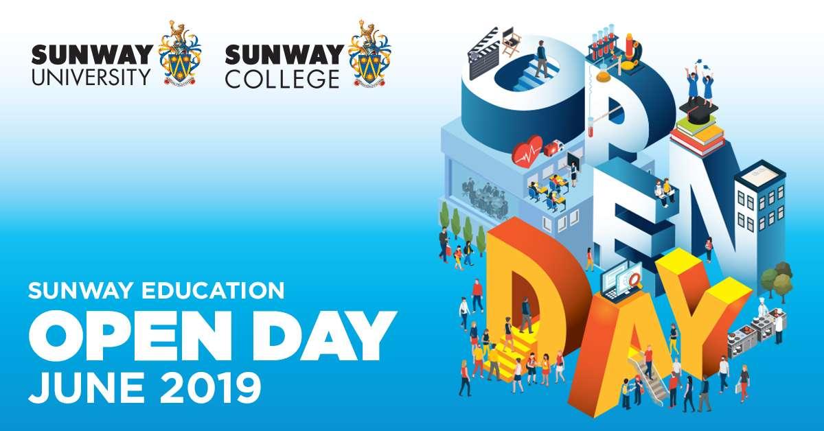 Đại học Sunway sẽ tổ chức ngày hội Open Day sắp tới vào ngày 29 và 30 tháng 6