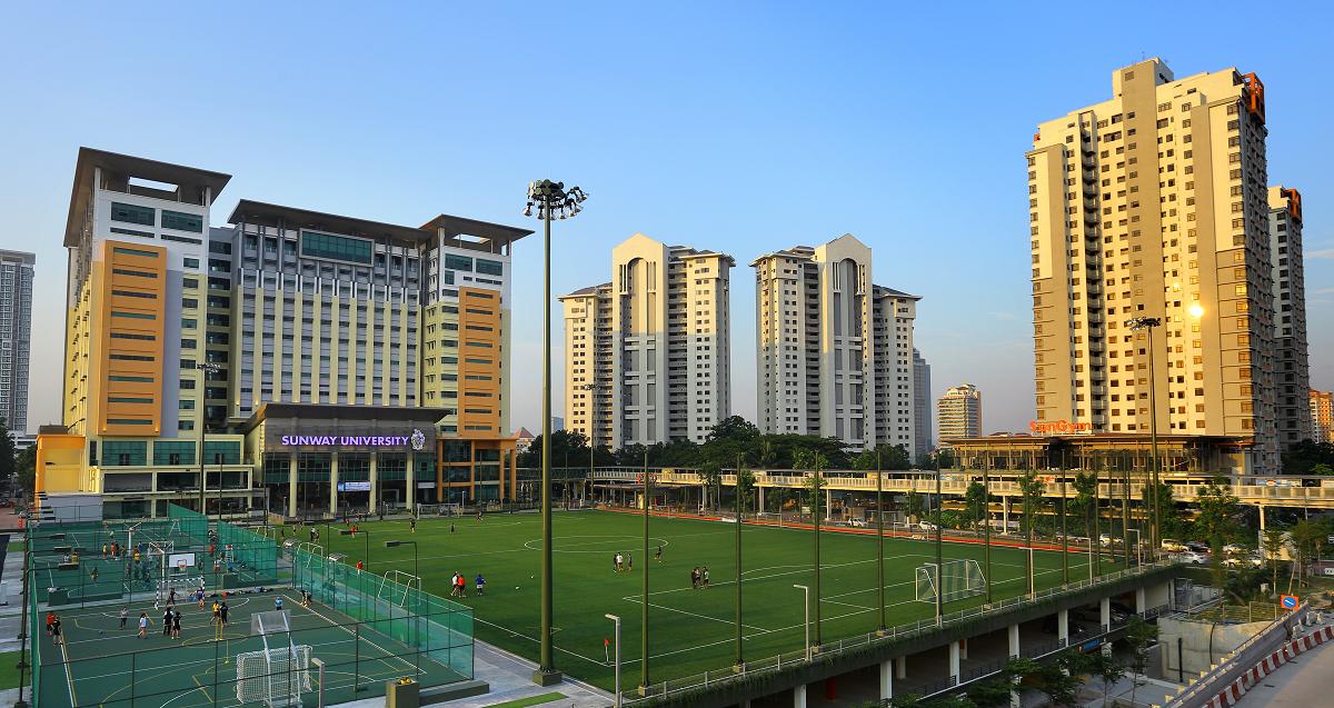 Đại học Sunway sở hữu khu học xá hiện đại trên diện tích 10ha
