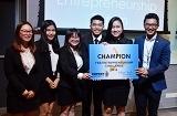 Nhóm của sinh viên Việt Nam giành giải Quán quân về Ẩm thực của Đại học Sunway