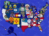 Viết tắt các bang của Mỹ
