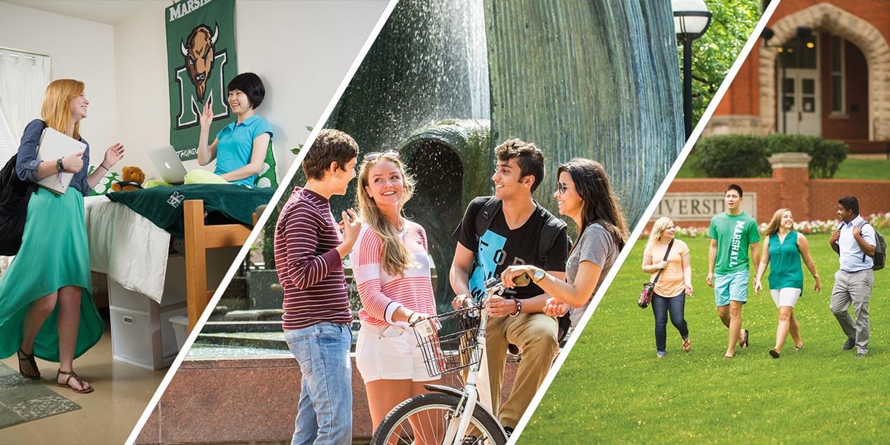 Sinh viên Đại học Marshall Mỹ