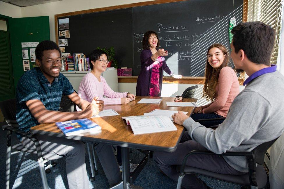 Lớp học tại Queens College