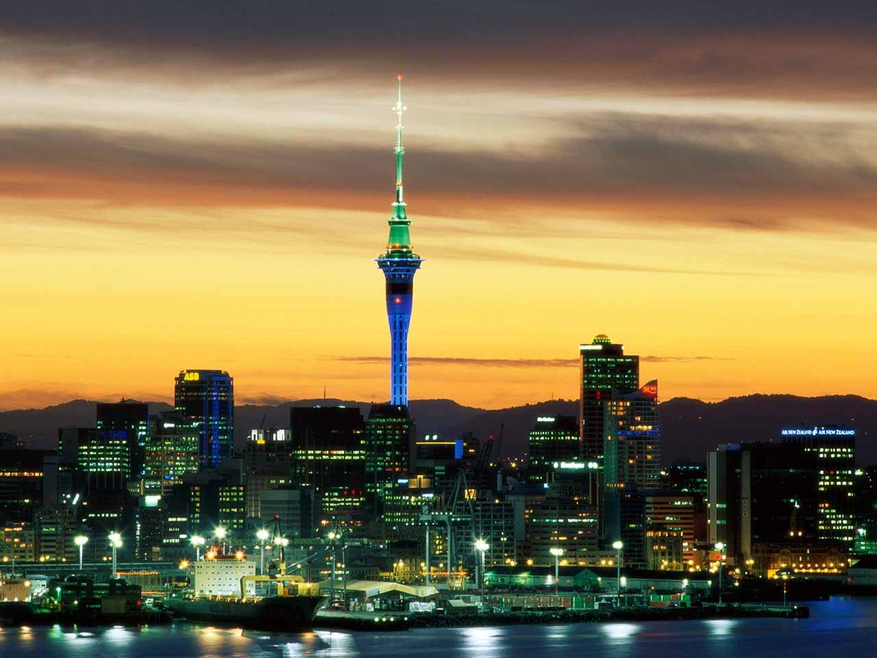 Hình ảnh du học New Zealand - Phong cảnh