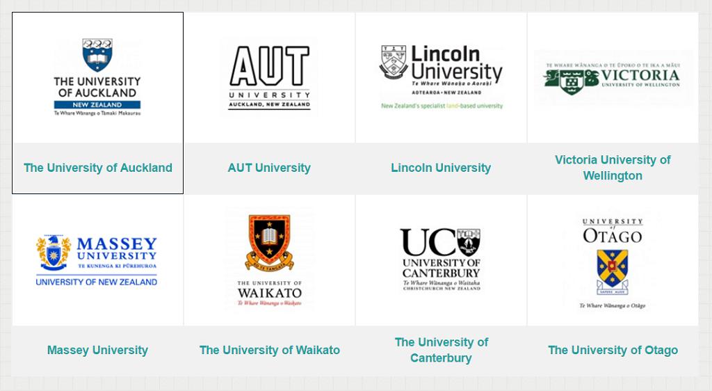 """Top 8 trường đại học xuất sắc tại """"xứ sở chim Kiwi"""""""