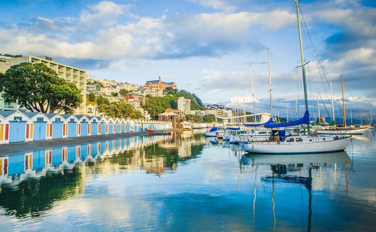 Wellington nổi tiếng với văn hóa cà phê độc đáo cùng ngành du lịch, nhà hàng khách sạn phát triển mạnh
