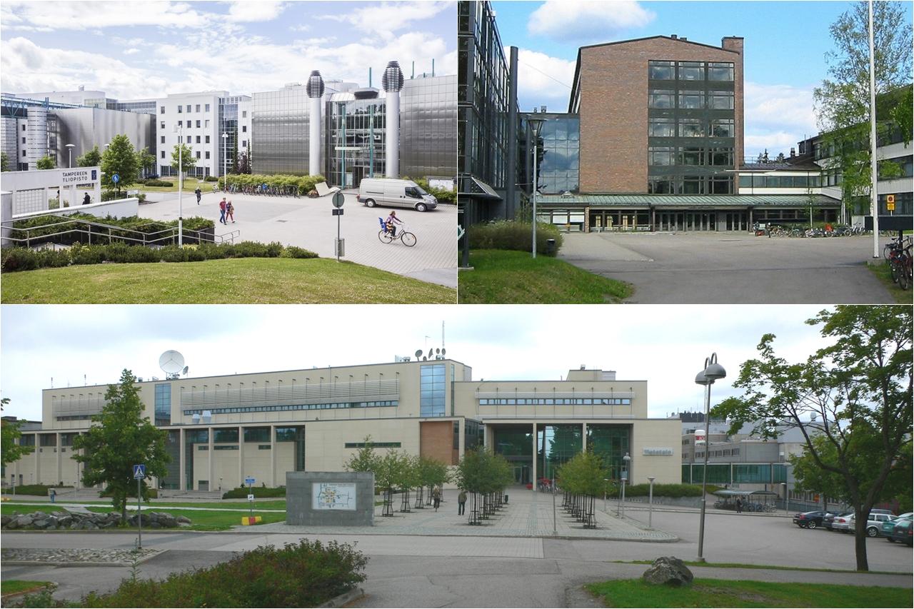 Tampere3 - Cộng đồng giáo dục đại học của 3 trường Đại học Tampere, Đại học Công nghệ Tampere và Đại học KHUD Tampere