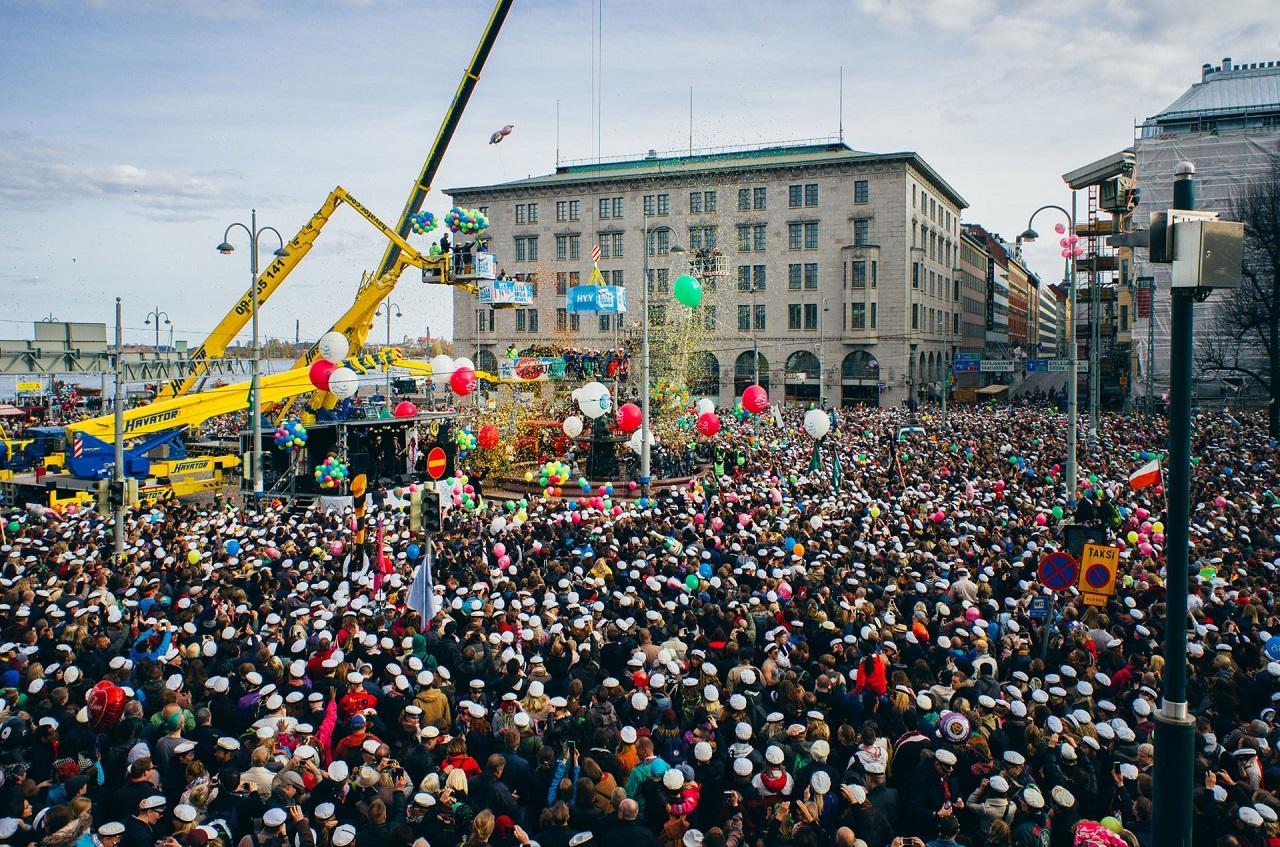 Các lễ hội luôn thu hút đông sinh viên du học tại Phần Lan