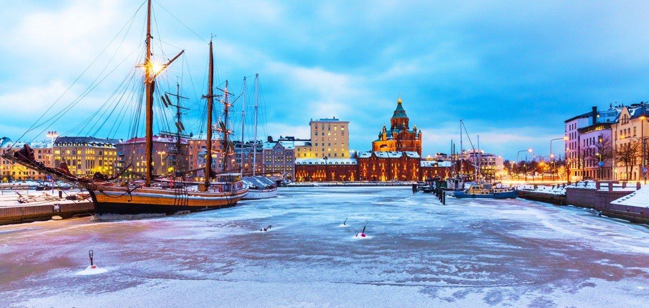Mùa đông tại Phần Lan