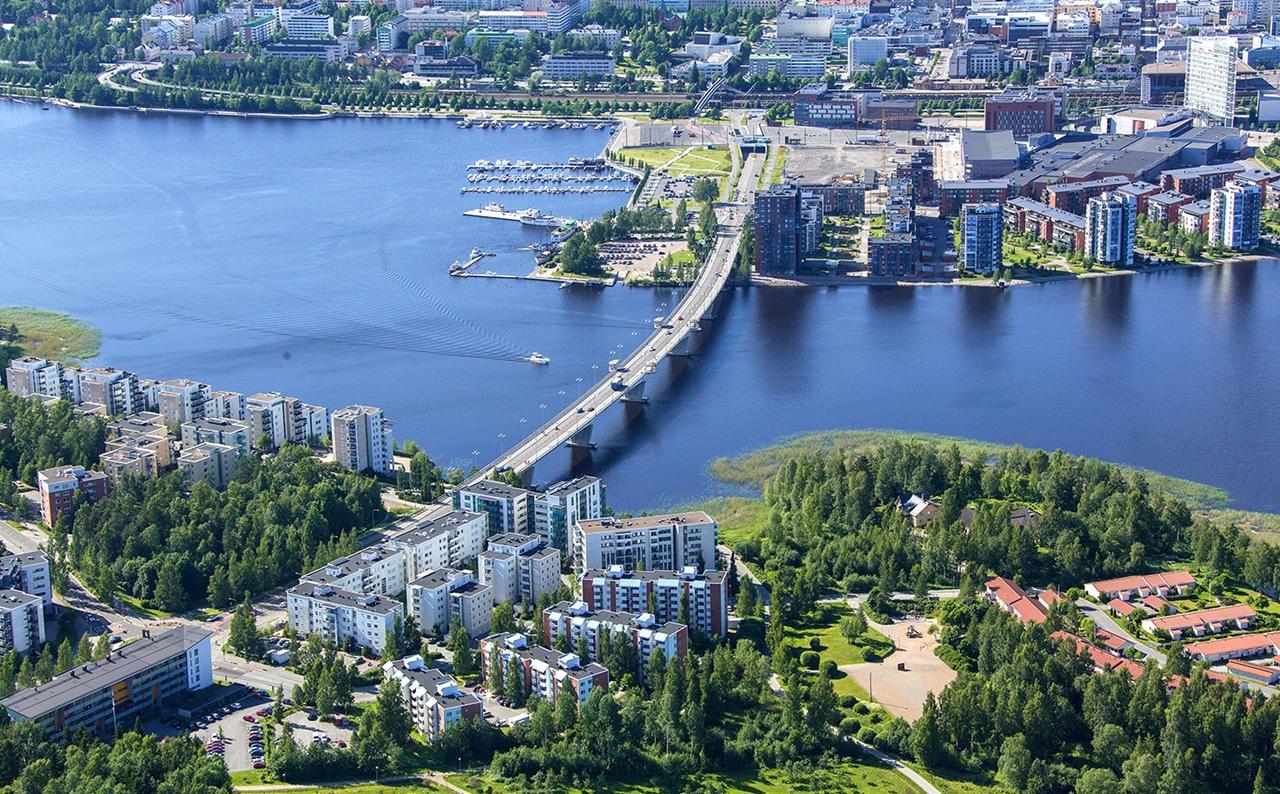 Thành phố Jyvaskyla xinh đẹp