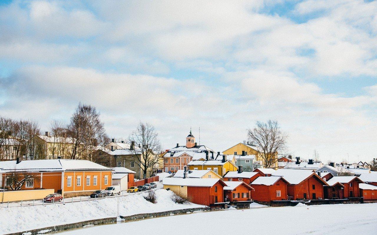 Mùa đông khắc nghiệt của Phần Lan có thể là thách thức không nhỏ với nhiều người