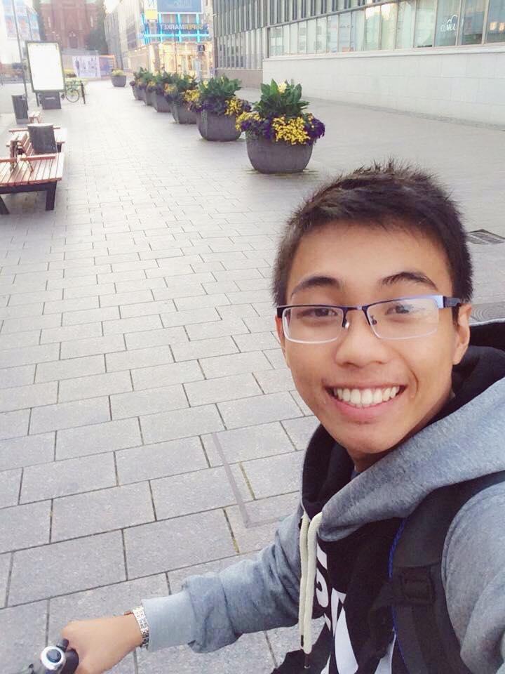 Trương Quốc Phong - Sinh viên Đại học Khoa học Ứng dụng Mikkeli