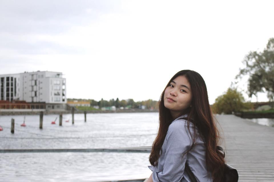 Phùng Thu Hà - Sinh viên Đại học Khoa học Ứng dụng Karelia