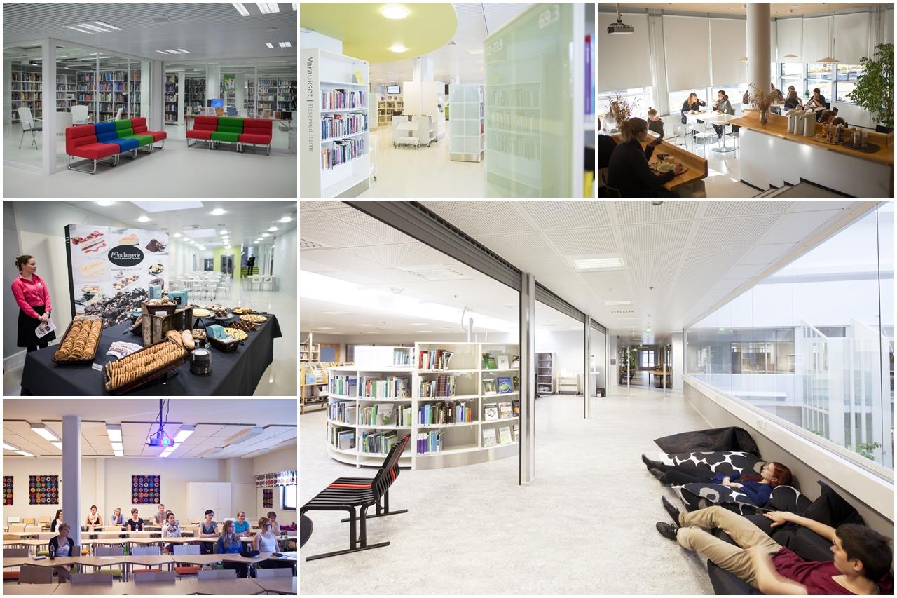 Cơ sở vật chất của Đại học KHUD Lahti