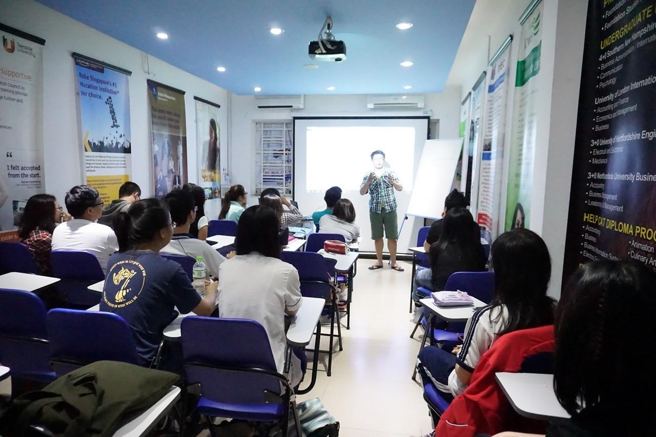 Lớp luyện thi du học Phần Lan tại INEC