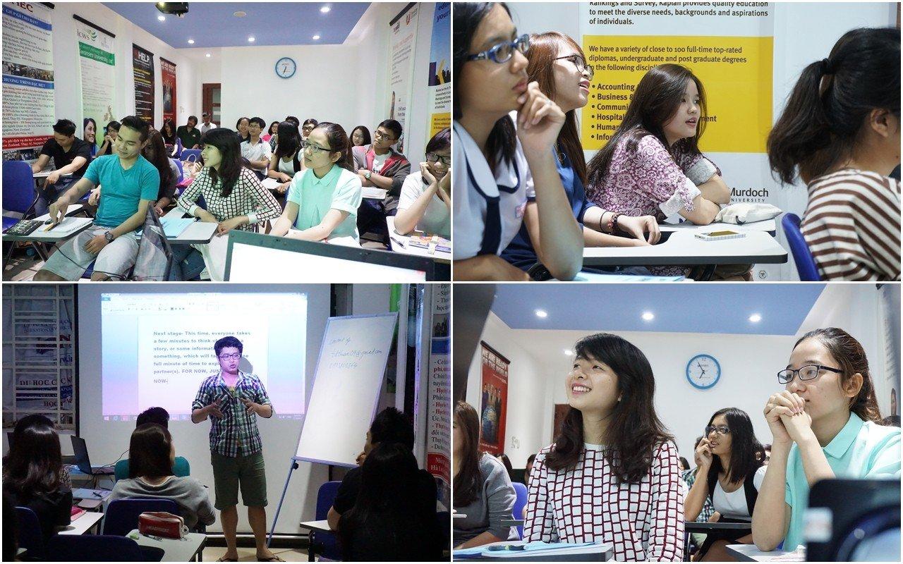 Lớp luyện thi do Du học INEC tổ chức giúp nhiều HSSV Việt Nam dễ dàng đạt kết quả cao trong kỳ thi đầu vào du học Phần Lan