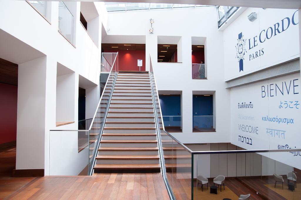 Một góc bên trong cơ sở mới của Le Cordon Bleu Paris