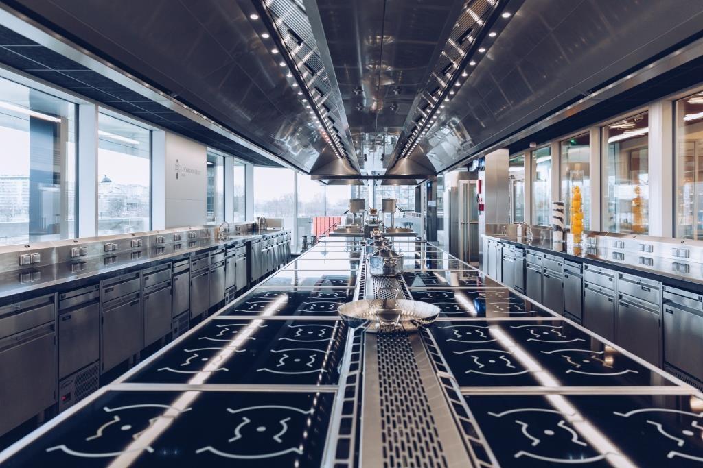 Le Cordon Bleu trang bị 7 phòng thực hành nấu nướng, làm bánh chuyên nghiệp