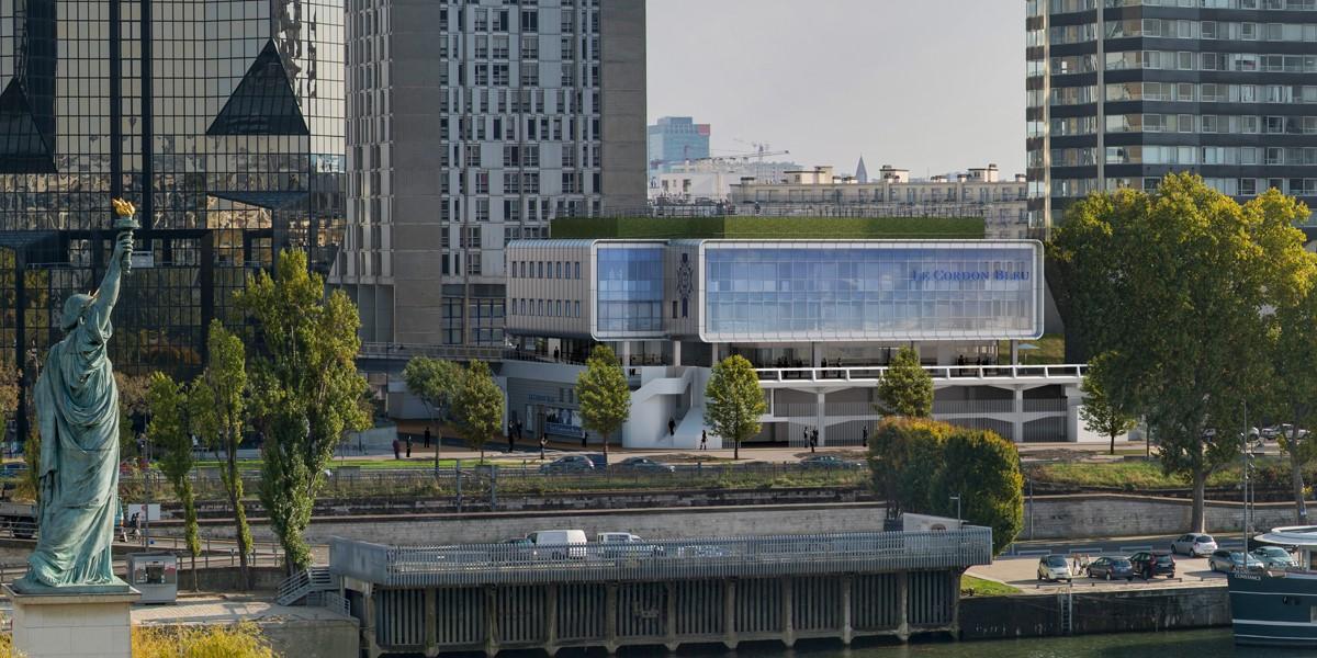 Học viện Le Cordon Bleu Paris tọa lạc ngay trung tâm thành phố