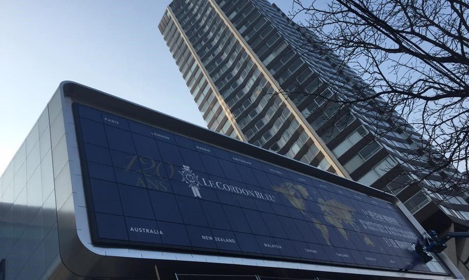 Khu học xá tại Paris là trụ sở chính của Học viện Le Cordon Bleu