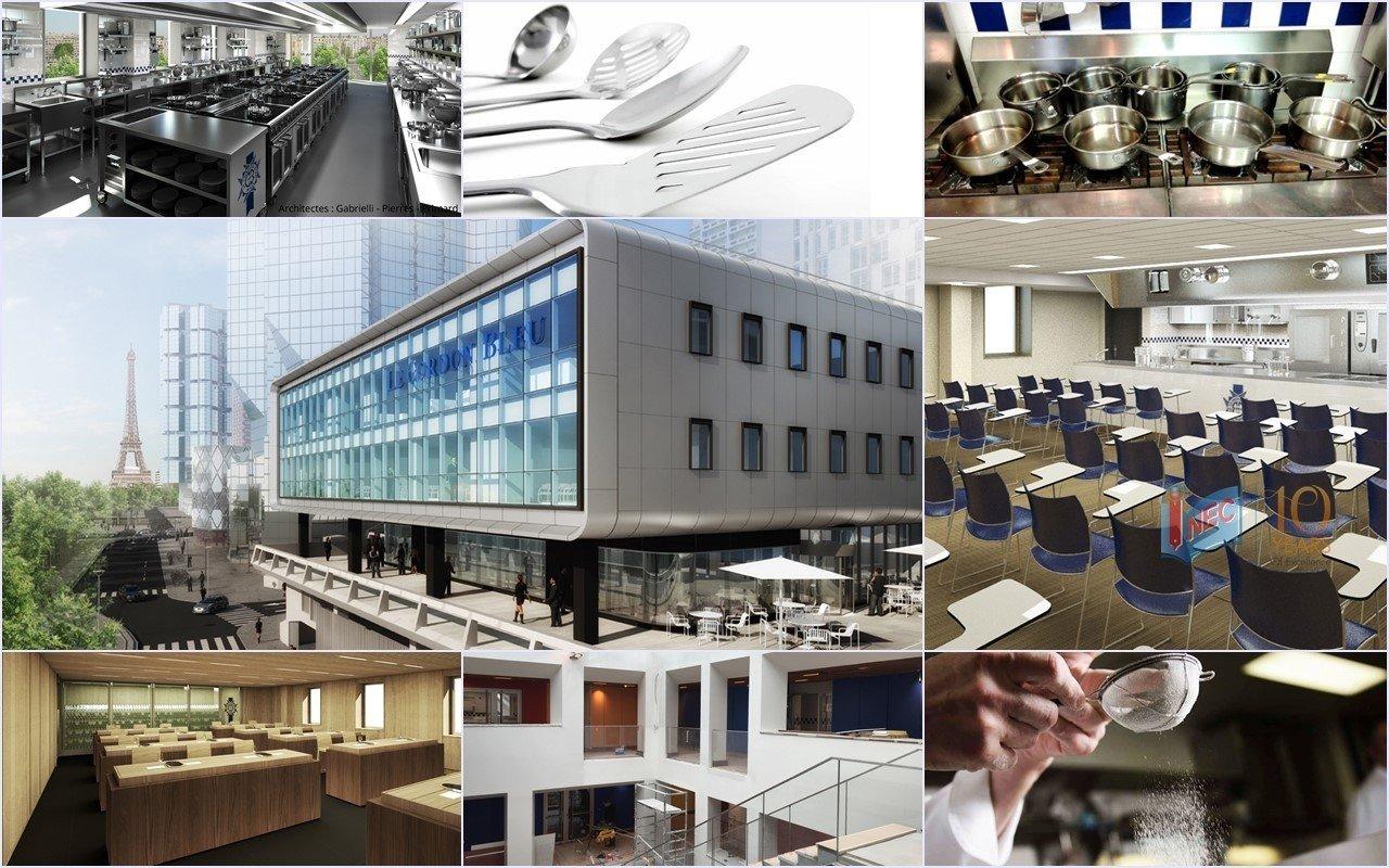 Cơ sở vật chất khu học xá mới tại Paris của Học viện Le Cordon Bleu