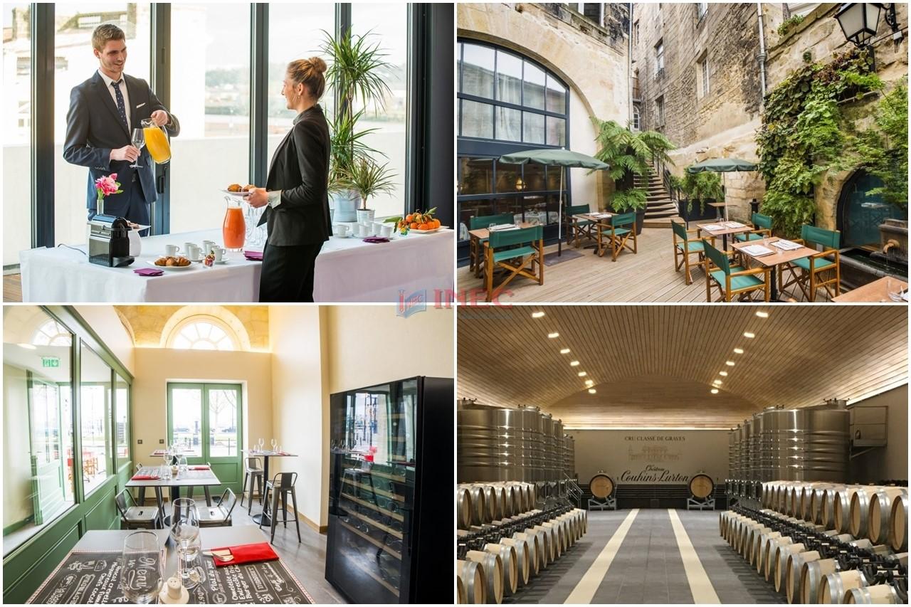 Du học Pháp ngành quản trị khách sạn tại Học viện Vatel Bordeaux