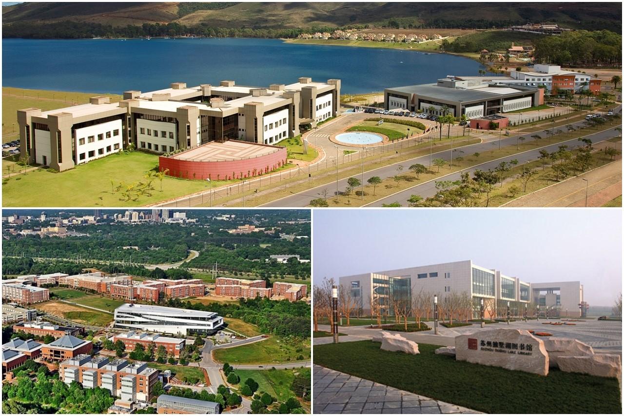 Ngoài khu học xá tại Pháp, SKEMA còn có các cơ sở giáo dục tại Brazil, Mỹ, Trung Quốc
